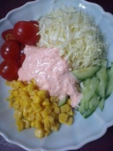 キャロットマヨのサラダ