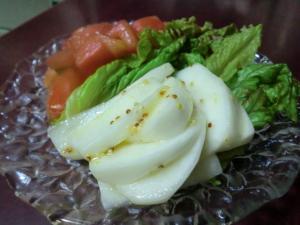 かぶのサラダ マスタード風味