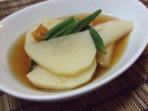 長芋とオクラの梅煮