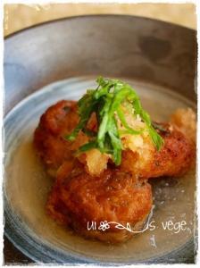 里芋の味噌団子♪