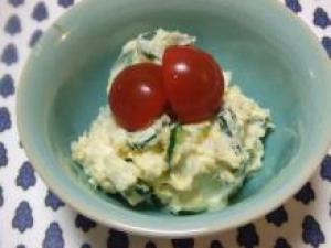 タラゴンと長芋のポテトサラダ