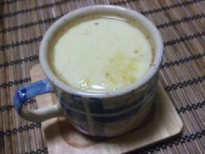 柚子の香り♪お餅入り茶碗蒸し
