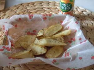バジルレモンのフライドポテト