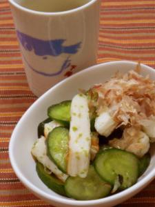 笹かまきゅうり松茸風味