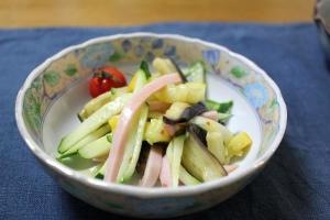 夏野菜のサラダ