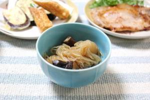 椎茸と結びしらたきの煮もの