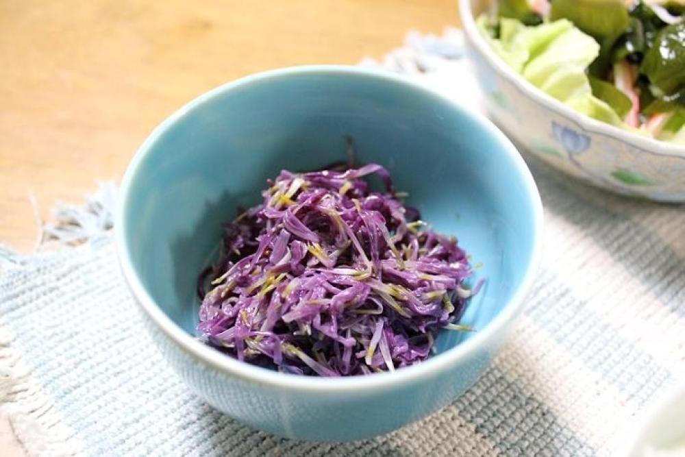 食用菊のナムル