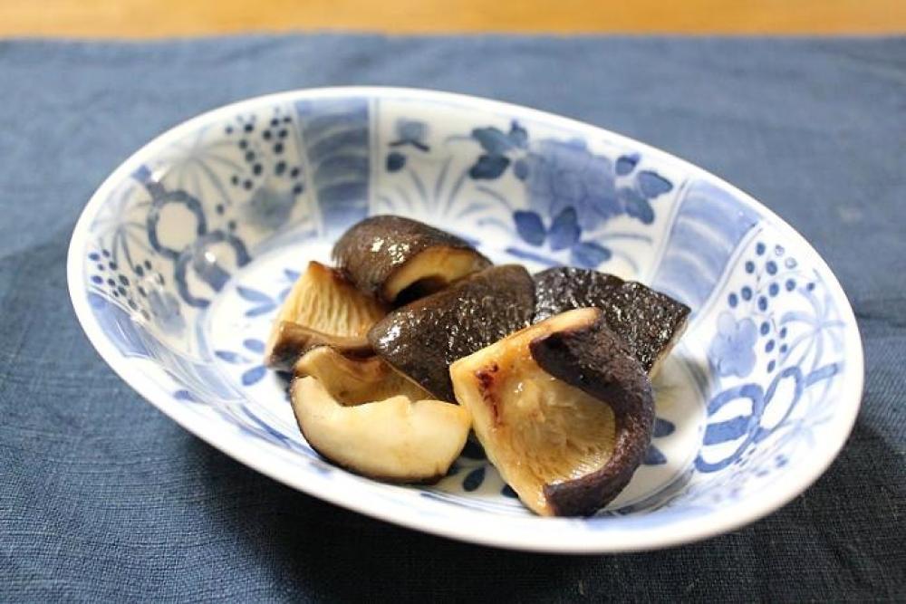 椎茸のバターじょうゆ炒め