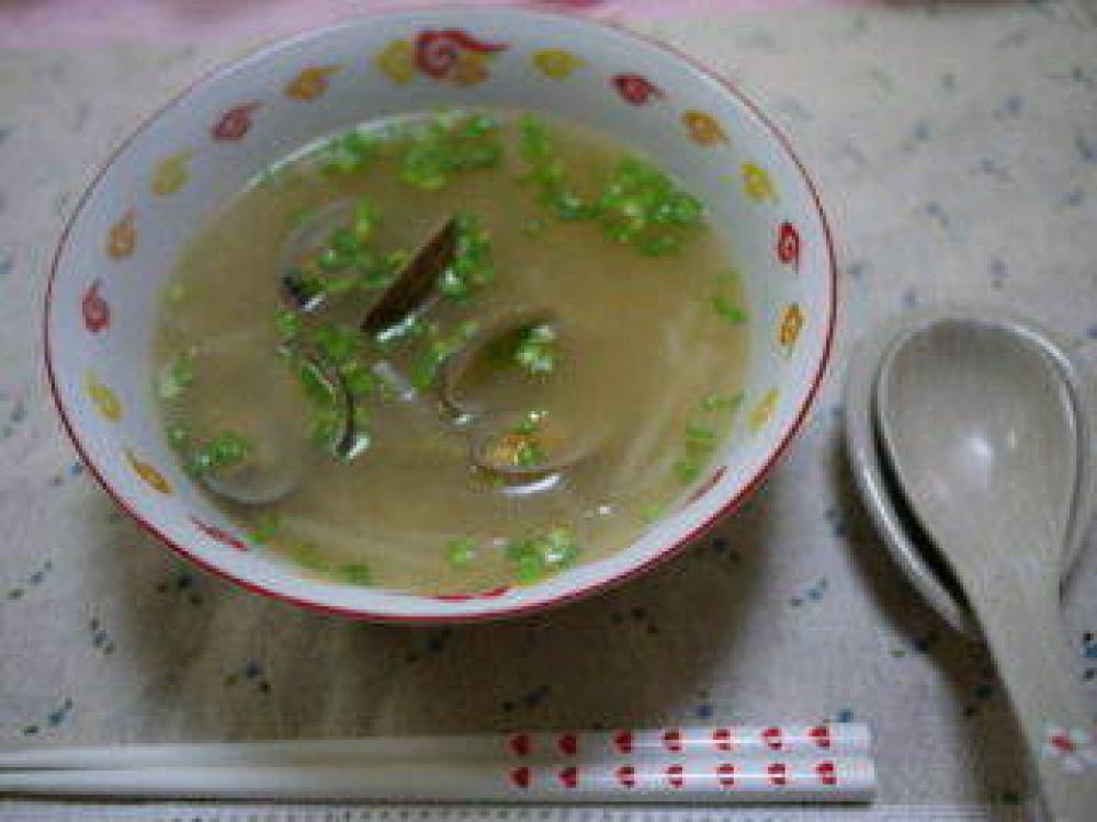ぽかぽか温まるあさりのスープ