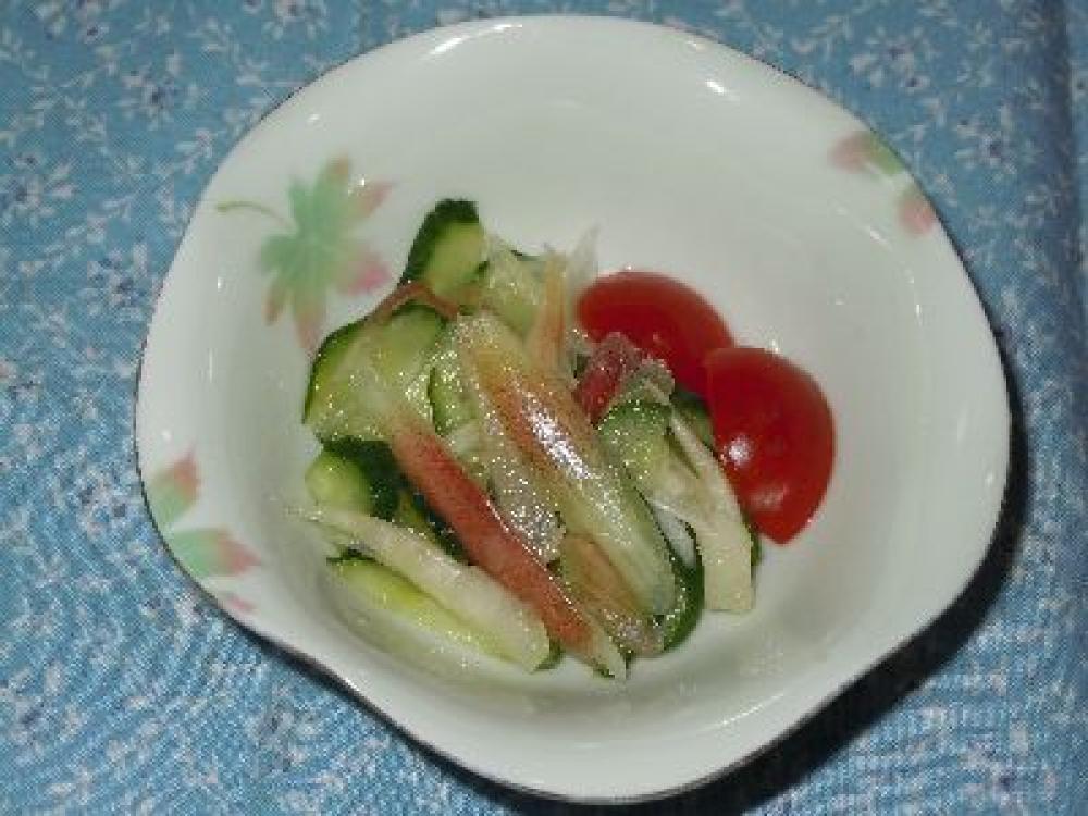 夏野菜のプチ甘酢漬け