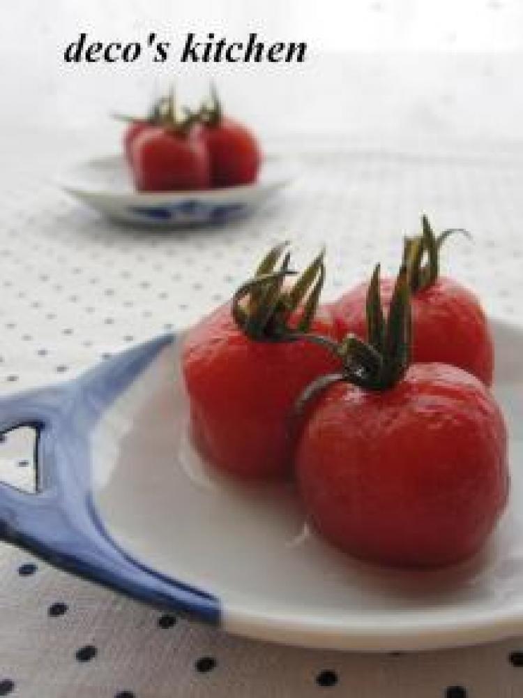 プチトマトのゆず胡椒甘酢