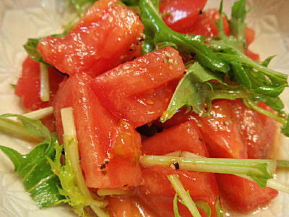 トマトサラダのドレッシング
