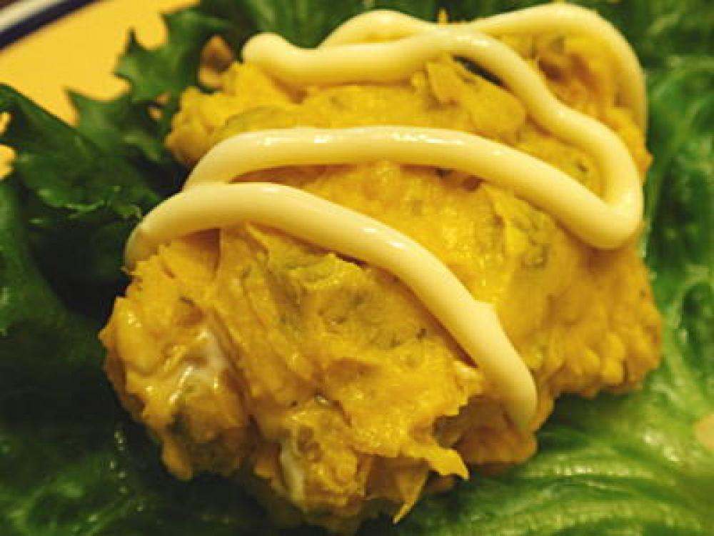 カボチャのマヨサラダ