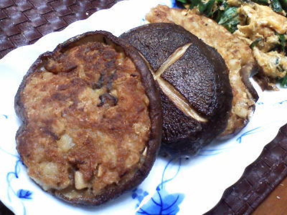 椎茸の野菜包み焼き
