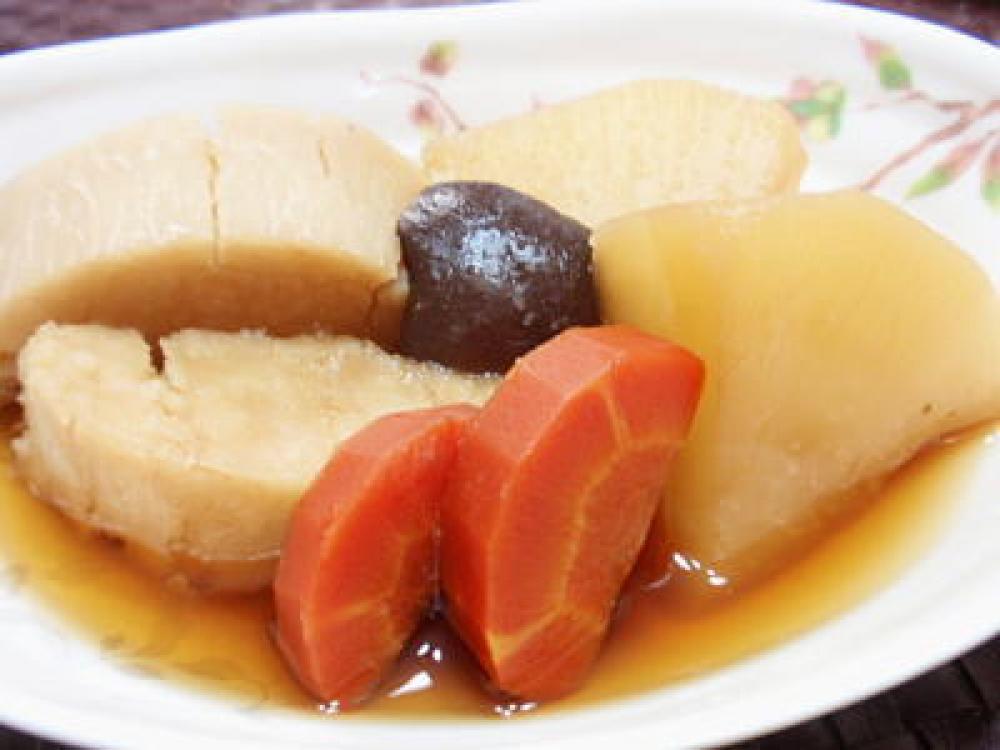 京芋・京人参・聖護院大根の煮物