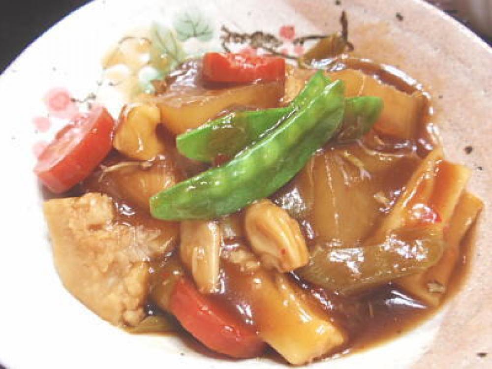 聖護院大根と京芋のトロトロ&ピリ辛うま煮