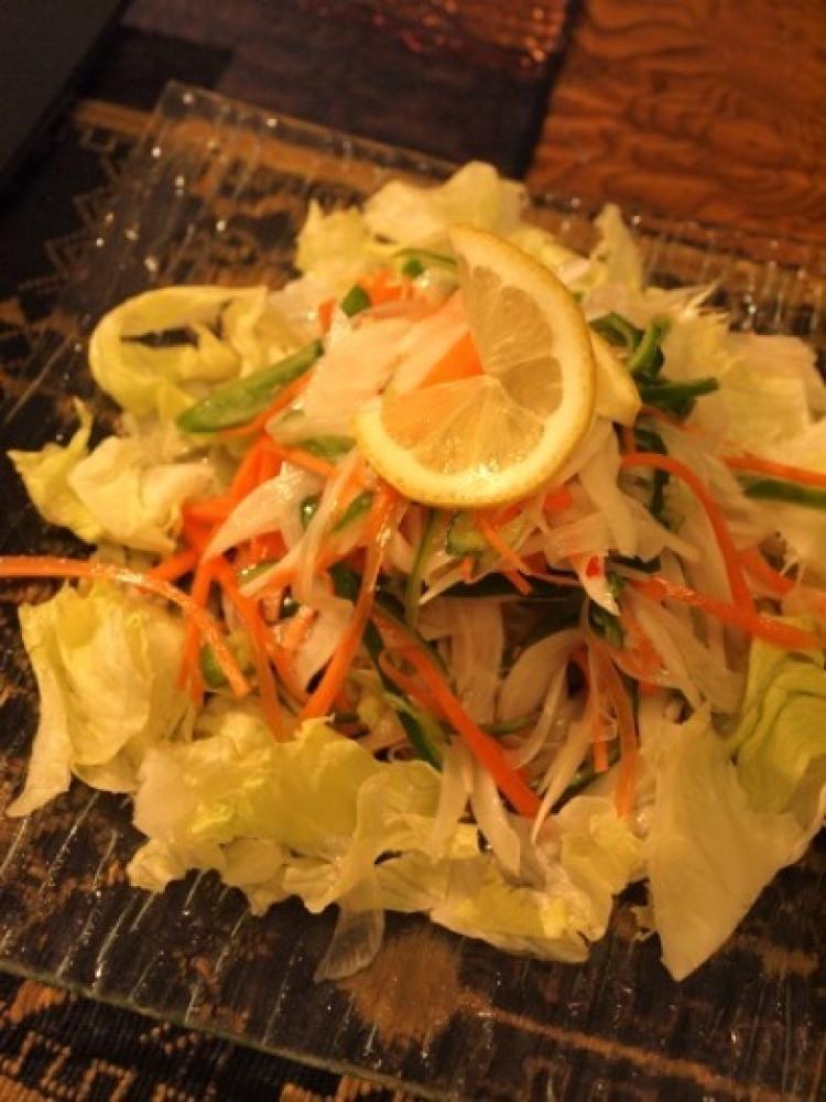 アジアンなサラダ