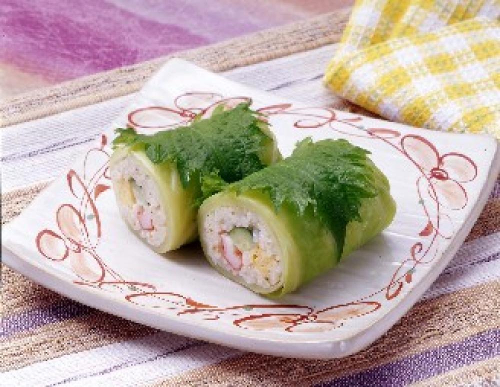 キャベツロール寿司