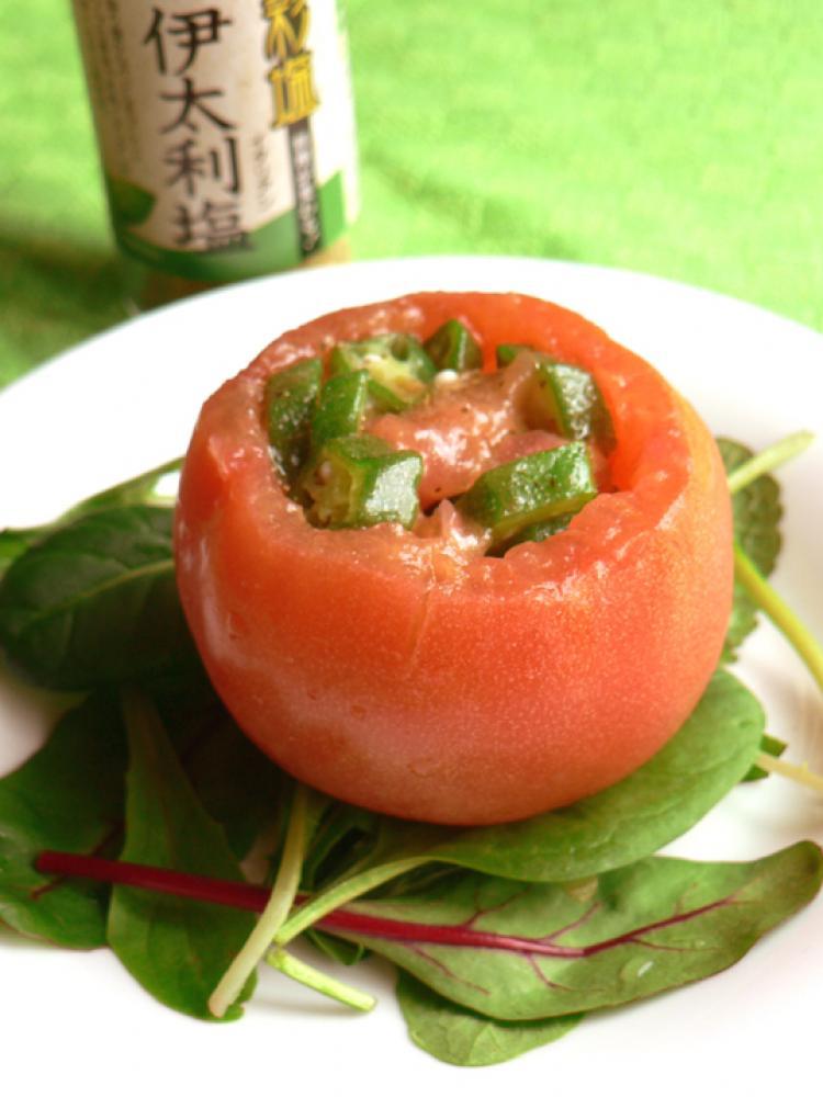 トマト丸ごと伊太利サラダ
