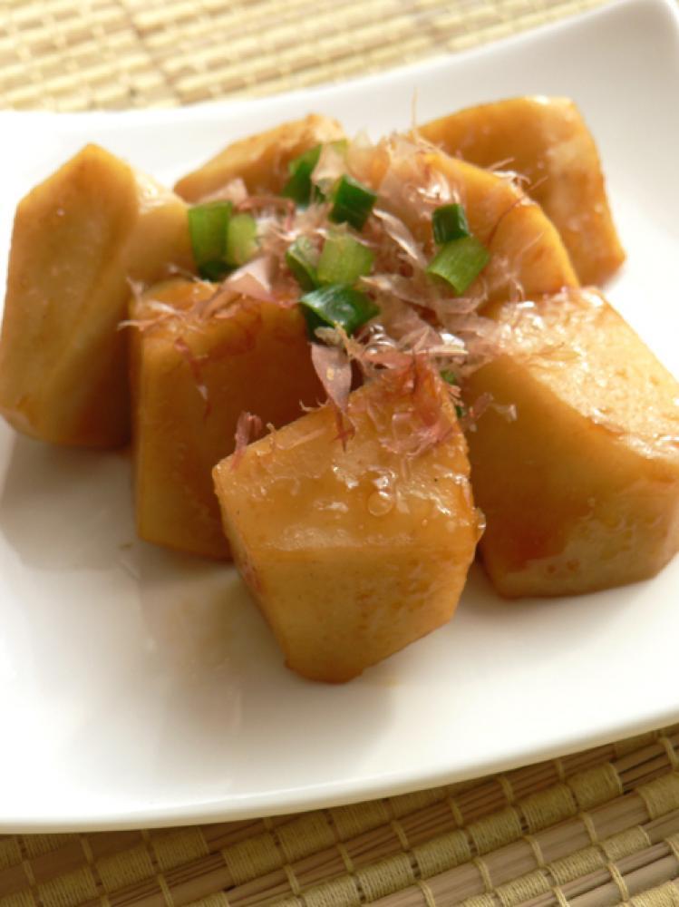ホクホク里芋の生姜焼き