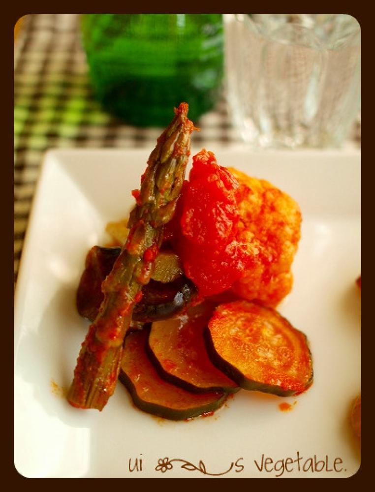 余り野菜でラタトゥイユ♪
