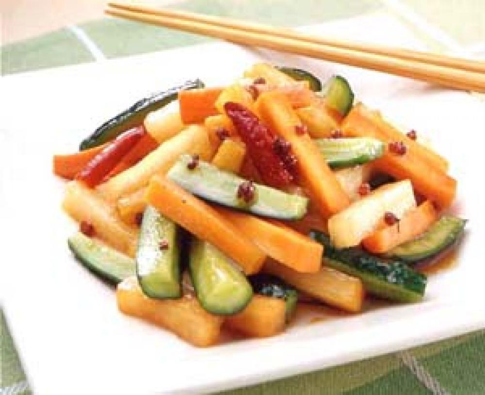 中華風野菜の漬物
