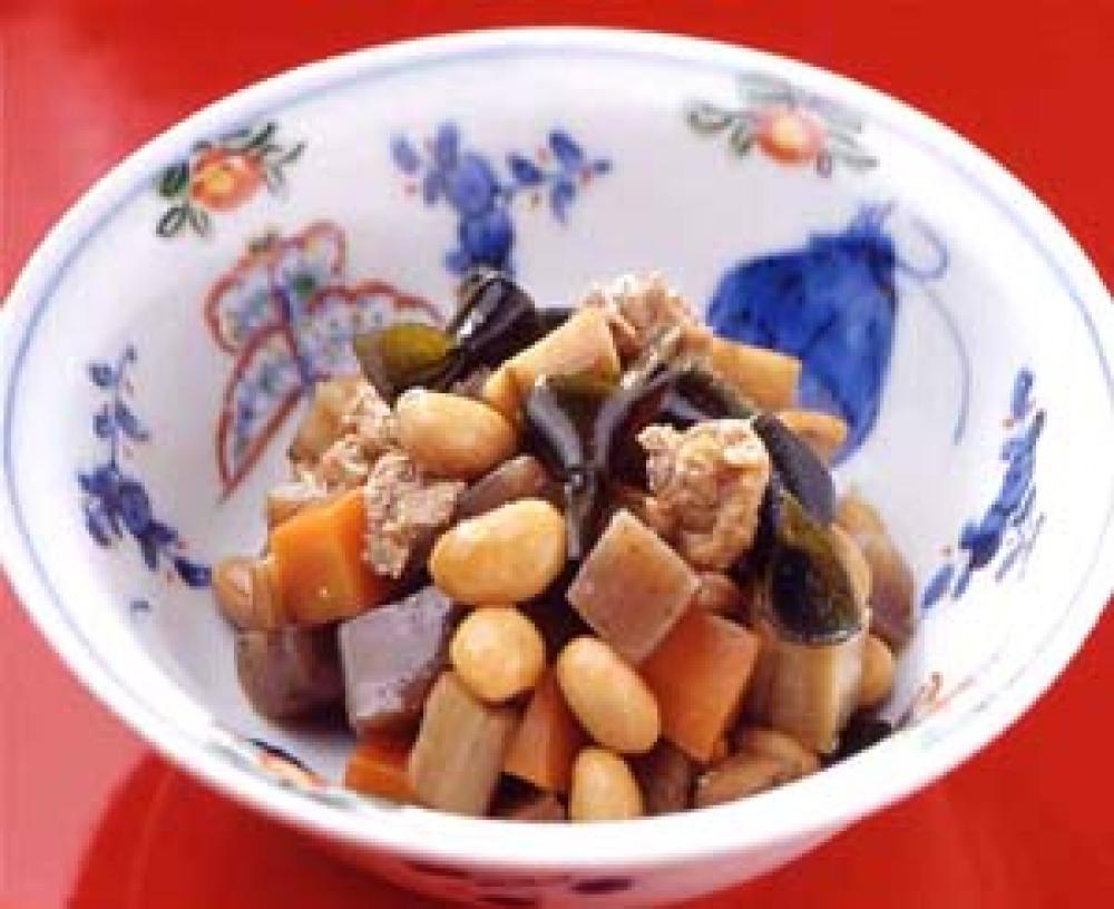 五目豆の煮物