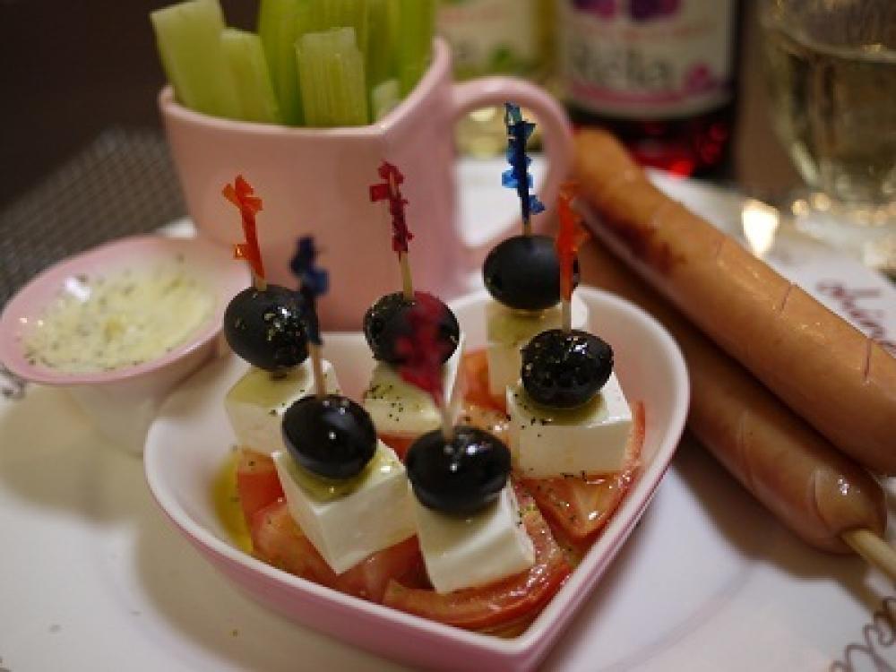 カクテルサラダ風ピンチョス