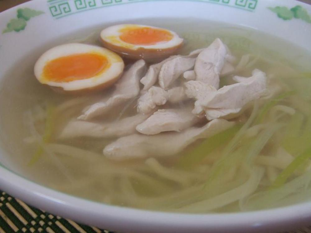 簡単中華◇鶏そば ~簡単煮玉子付き~