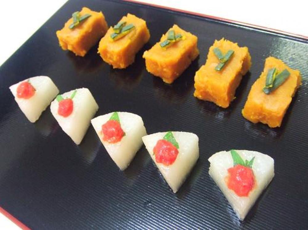 ケーキみたいな☆煮大根&かぼちゃ