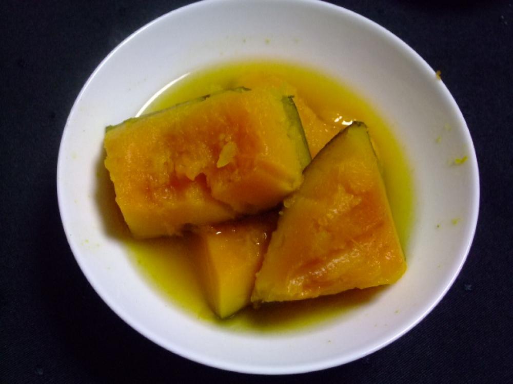 砂糖不使用ёかぼちゃの含め煮