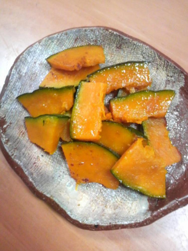 南瓜のバター焼き