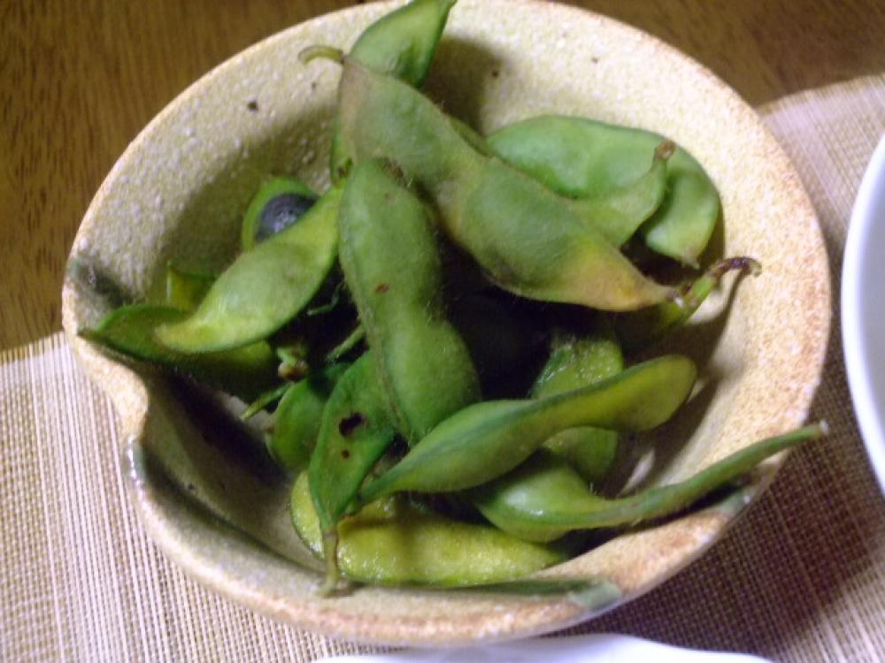 とっても美味しい☆茹で枝豆