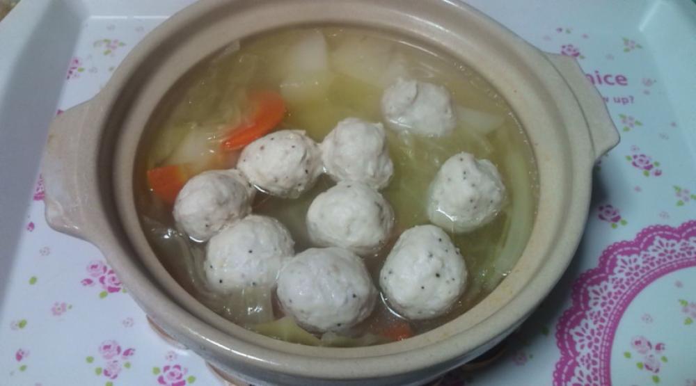 減塩☆鶏団子のスープ