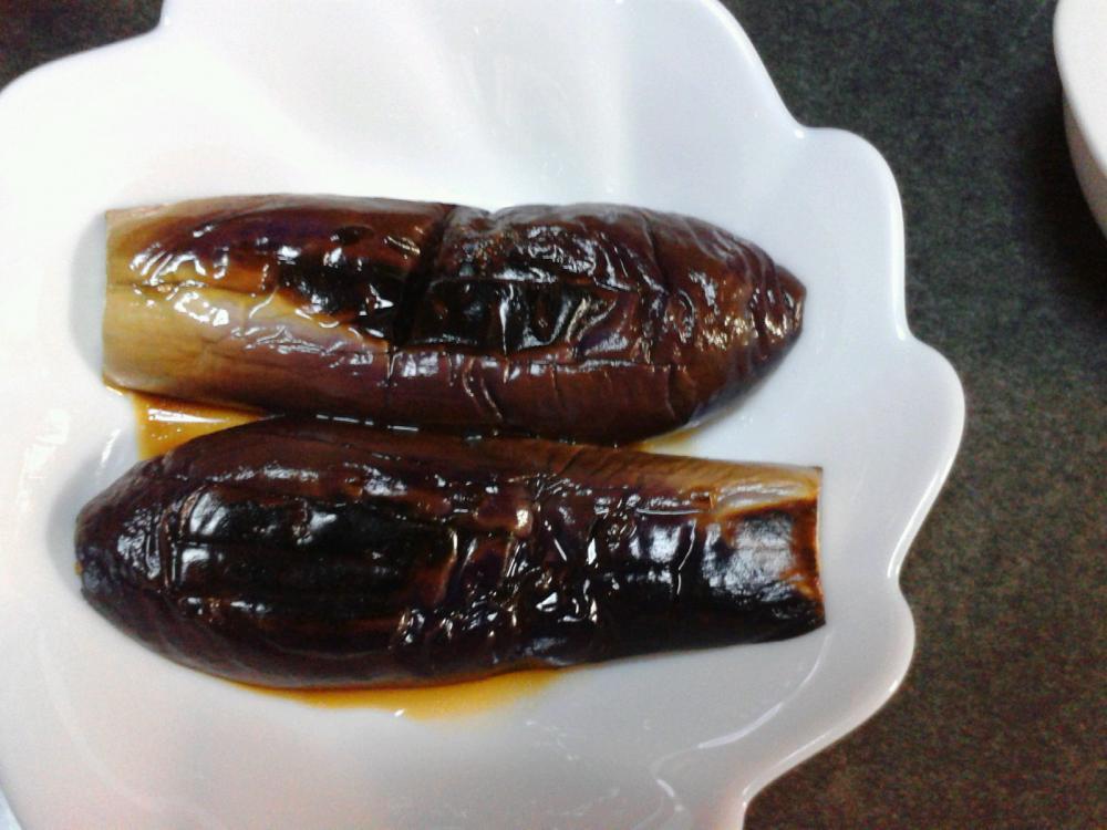 オリーブオイルで美味しい☆揚げ焼き茄子♪