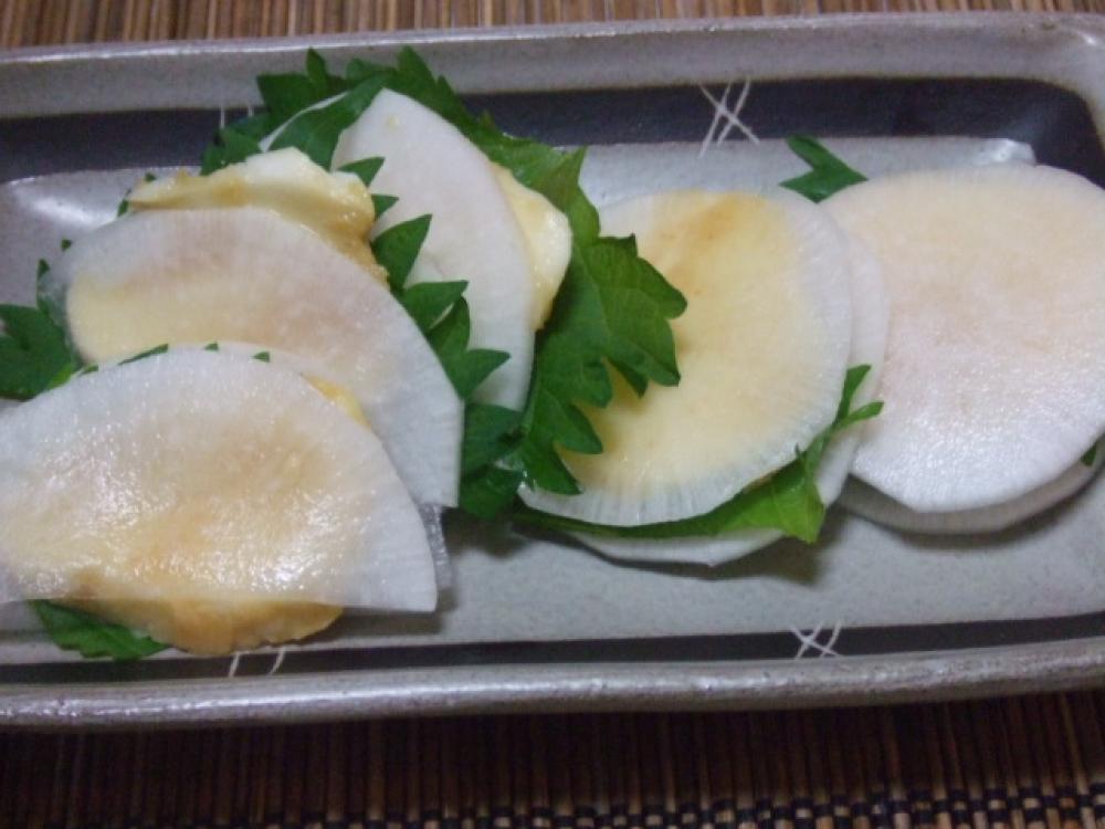 味噌漬けモッツァレラの和風サンド