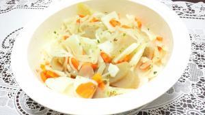 ハーブミックスの温野菜サラダ