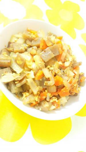 卵と野菜のお好みソテー