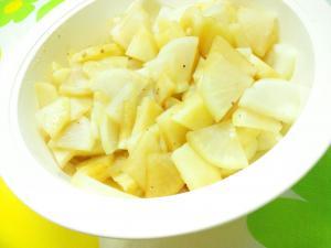 大根とジャガイモの和風温サラダ