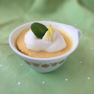 ローカーボなマグカップレモンケーキ