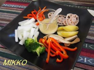たっぷり野菜のバーニャカウダ