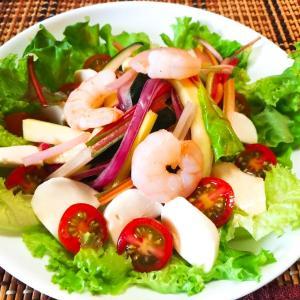 彩り野菜を使って!簡単さっぱりサラダ